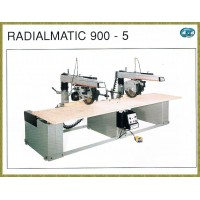 H022 - RADIAL SAW-SQUARING MACHINE